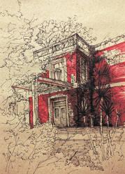 #19 abandoned house by JakubKrolikowskiART
