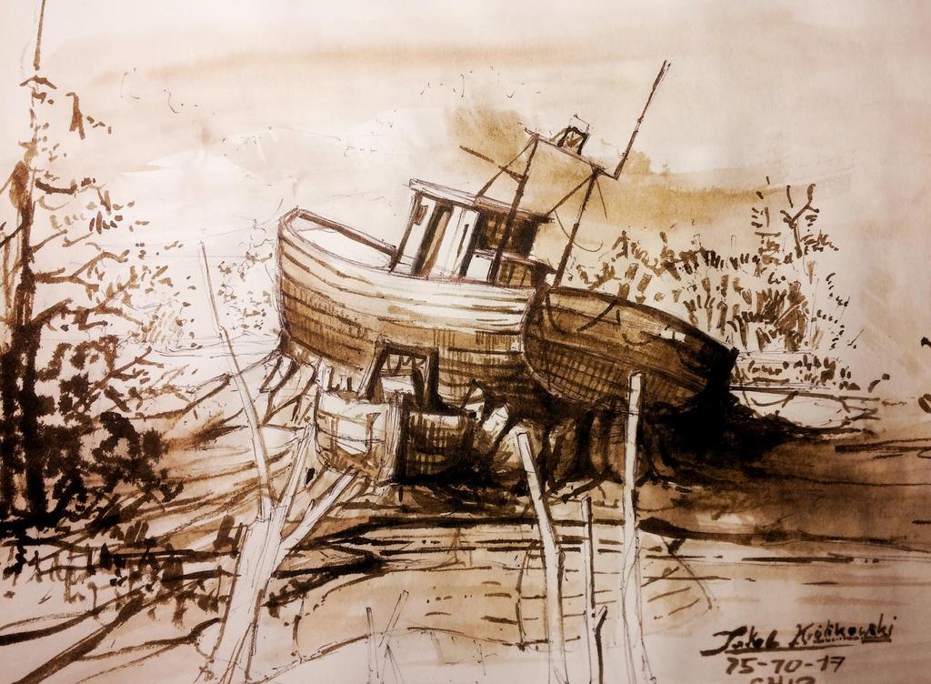 SHIP by JakubKrolikowskiART