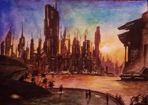 Future Cityscape Dream