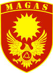 Coat of arms of Magas - Capital city of Ingushetia