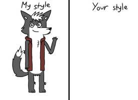 Style meme by TrendyTheFoxxo