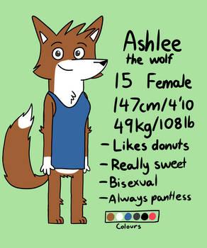 Ashlee Ref - 2019