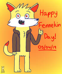 Fennekin Day by TrendyTheFoxxo