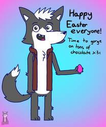 Happy Easter by TrendyTheFoxxo