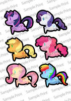 mlp stickers by 1girlfriend