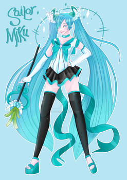 Sailor miku