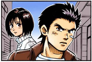 ryo and nozomi by mappy557