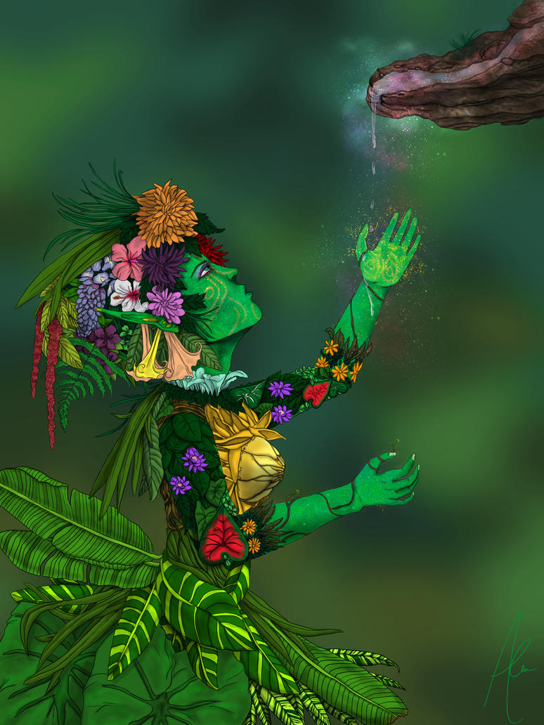 Botanical Elf by MinxFox