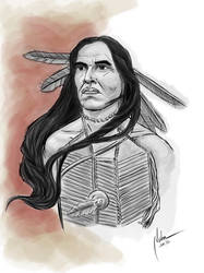 American indian  by mnetto