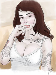 Suicide Girl by mnetto