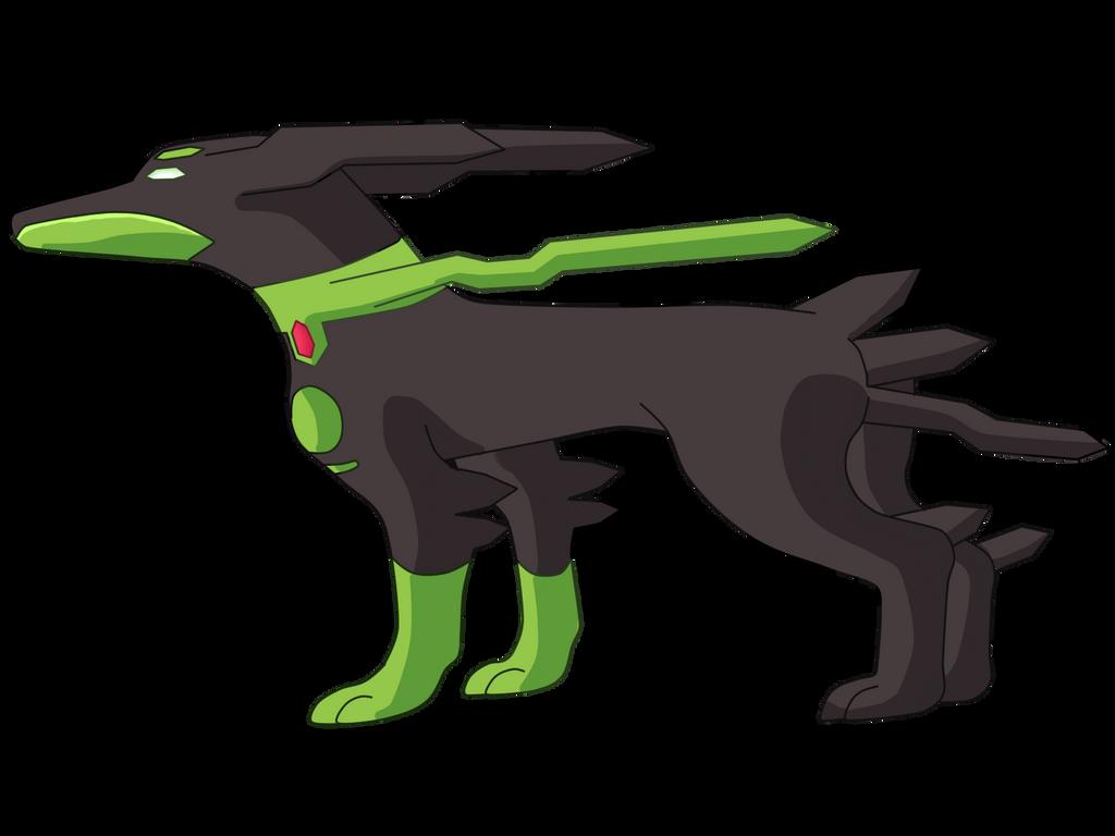 Dog Zygarde Form by iiDrBubbles on DeviantArt