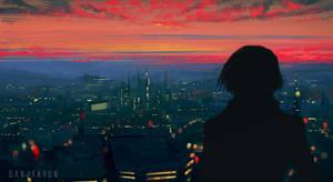 The city by GANJAKYUN