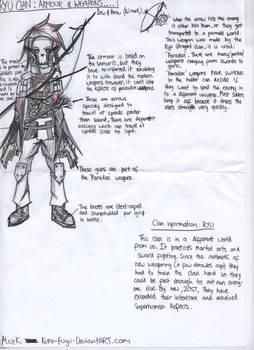 OC: Ryu Clan