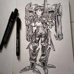 Random Sketch #2 by Firdausiyus