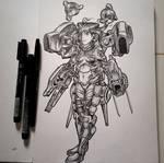 Random Sketch #3 by Firdausiyus