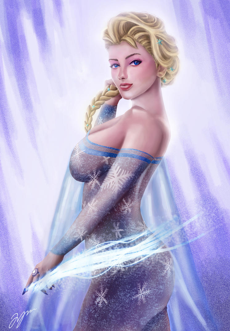 The Queen of Ice by Firdausiyus