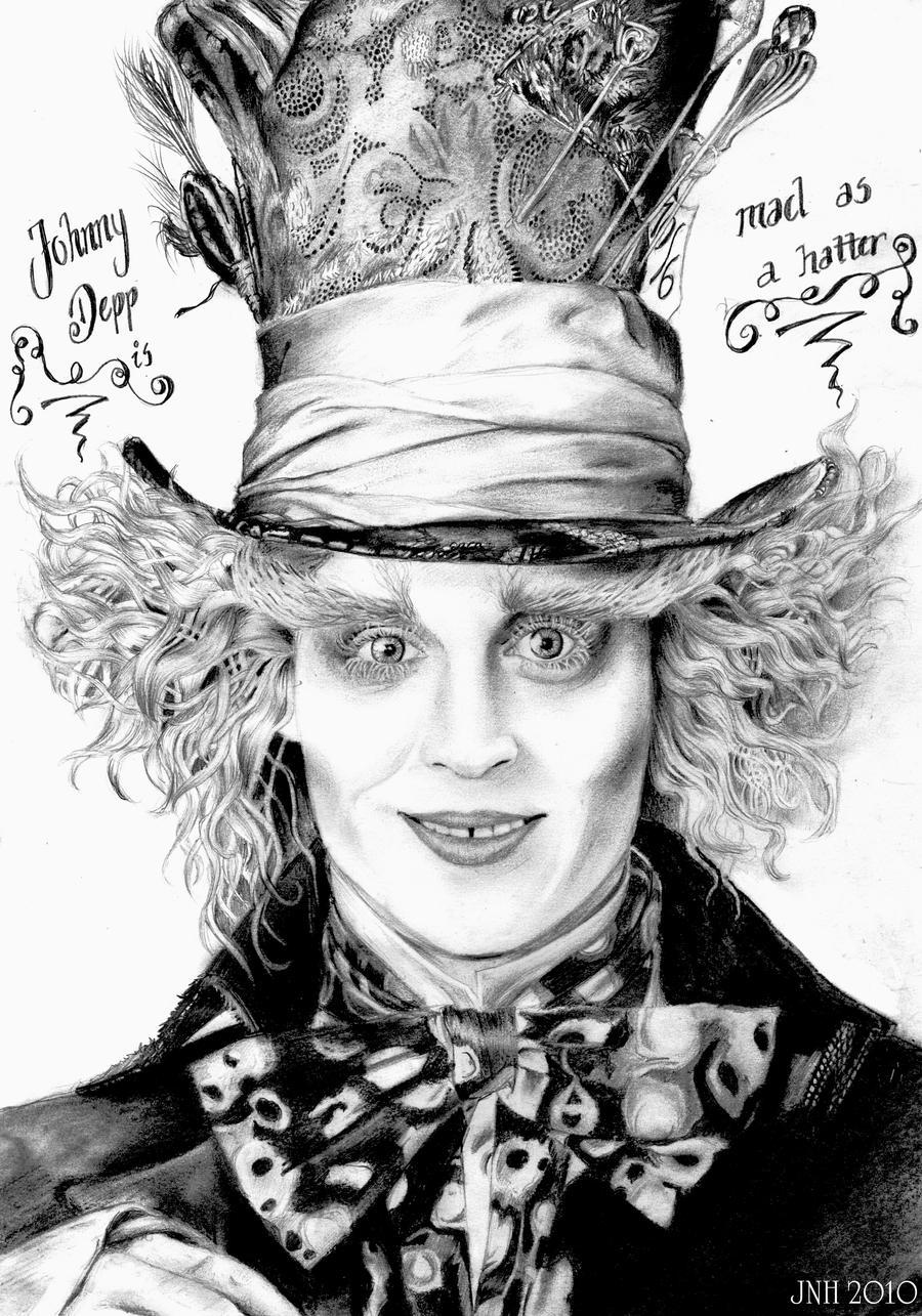 Johnny Depp - Mad hatter by Mizz-Depp on DeviantArt