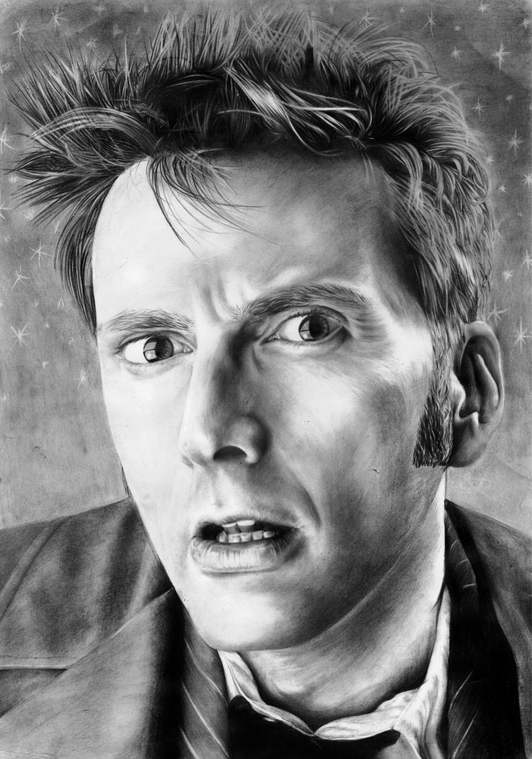 David Tennant Doctor Who by Mizz-Depp