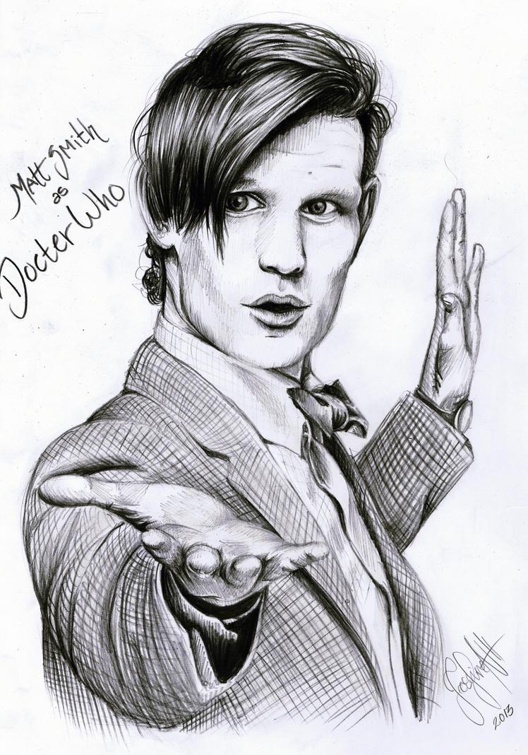 Doctor Who Matt Smith by Mizz-Depp