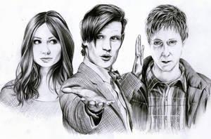 Doctor Who by Mizz-Depp
