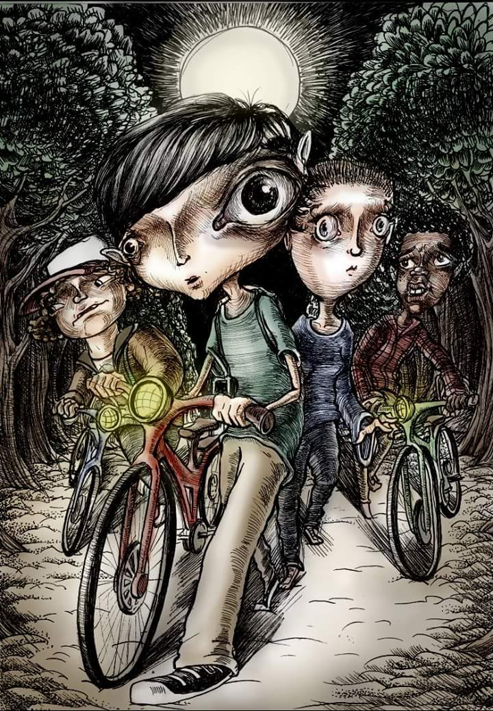 Stranger Things by Mizz-Depp