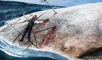 Ahab's end