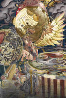 Steampunk angel - colored by liekebeunders