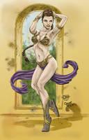Princess Leia - Colored by corduroy-magician