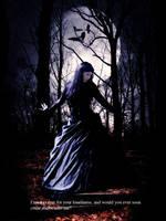 gothic girl II by lestatelvampiro