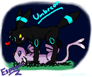 Umbreon and Espeon :REQUEST: by AmyroseXDSonic on DeviantArt
