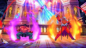 Kage VS God Rugal - Street Fighter - KOF -SNK