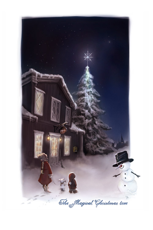 The Magical Christmas tree by StinaWiik