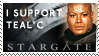 I support Teal'c by StinaWiik