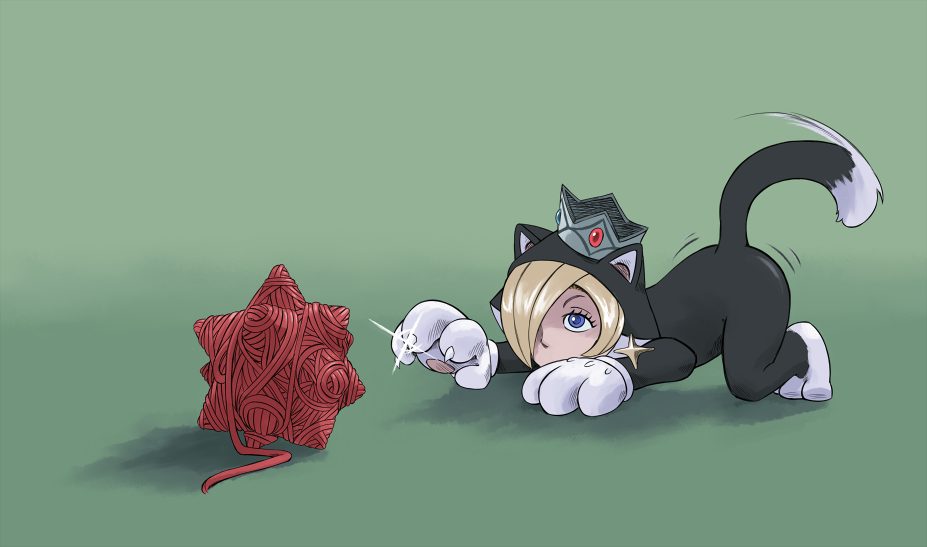 Rosalina the Cat by Scribblehatch