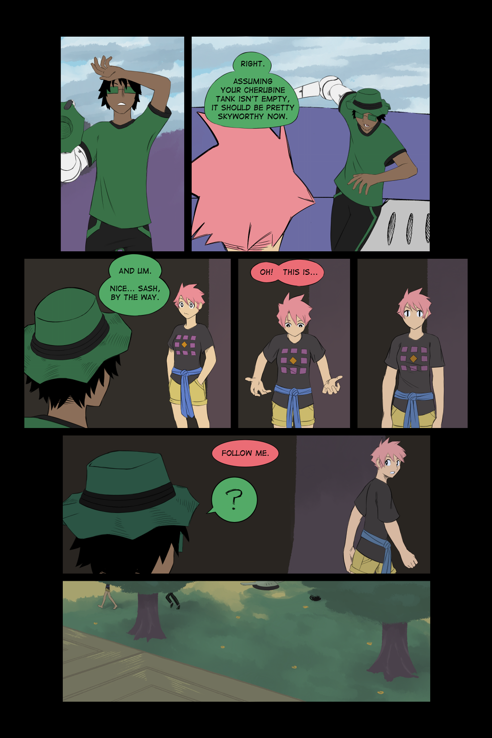 Chaos in the Tropics - Page 48 of Chap.1, Beat 5