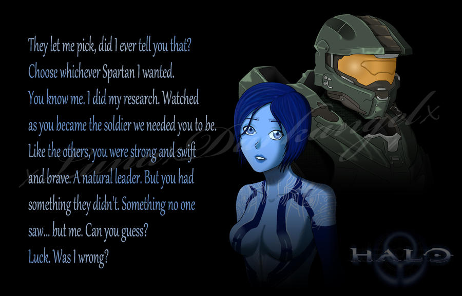 cortana and chief relationship