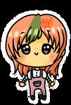 Animal Crossing Ketchup Chibi Girl by kawaiihoshi-san