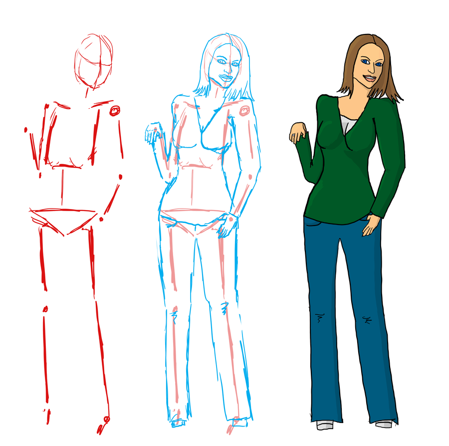 Figure Drawing Practice 1 by jathevan on DeviantArt