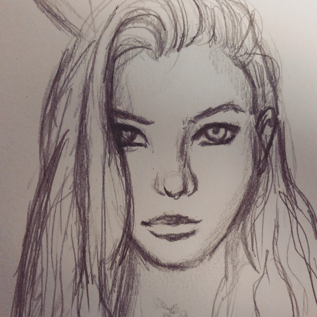 Work Sketch7 by ThriceLW