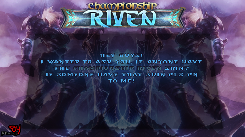 Searching Championship Riven