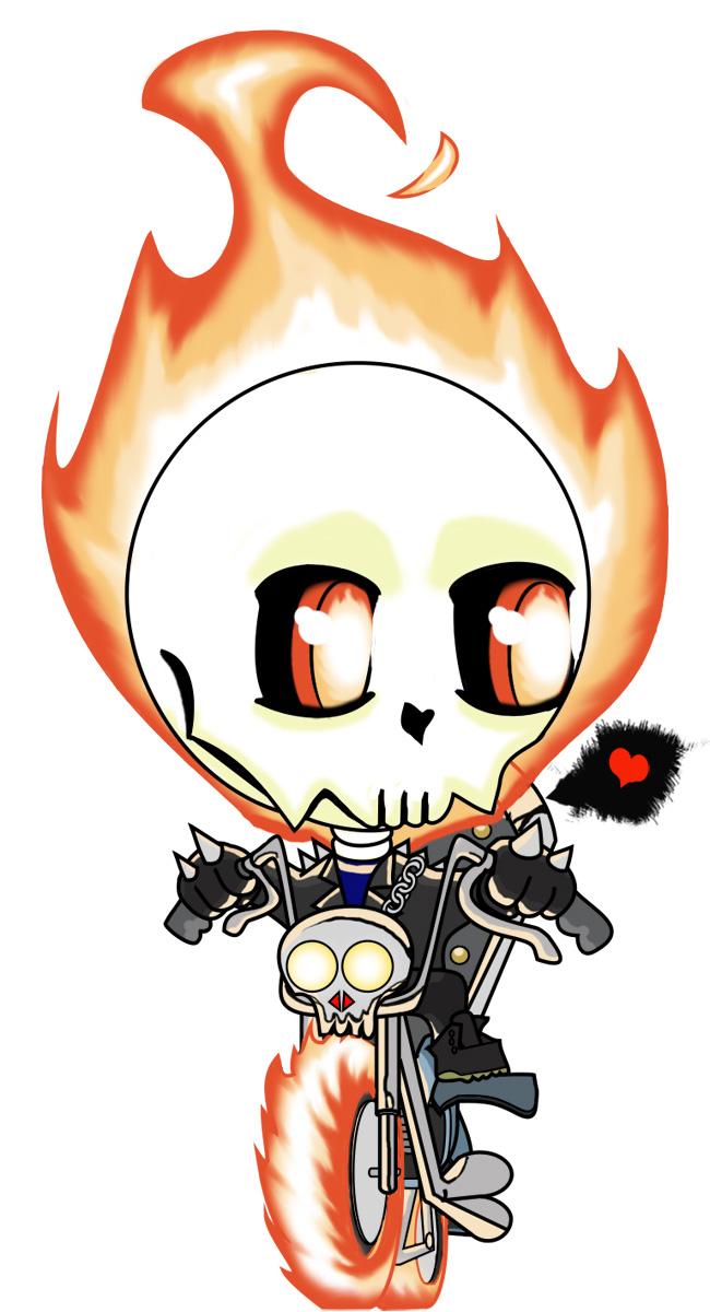 Chibi Ghost Rider by Tanis-WAR on DeviantArt