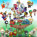 Chibi: mightiest heroes in the Marvel Universe
