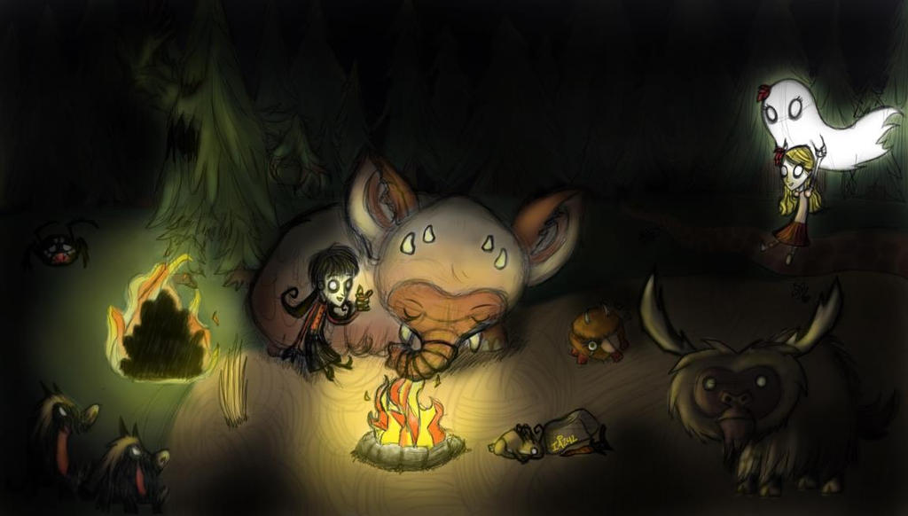 Don T Starve Wallpaper By Iceangel242 On Deviantart