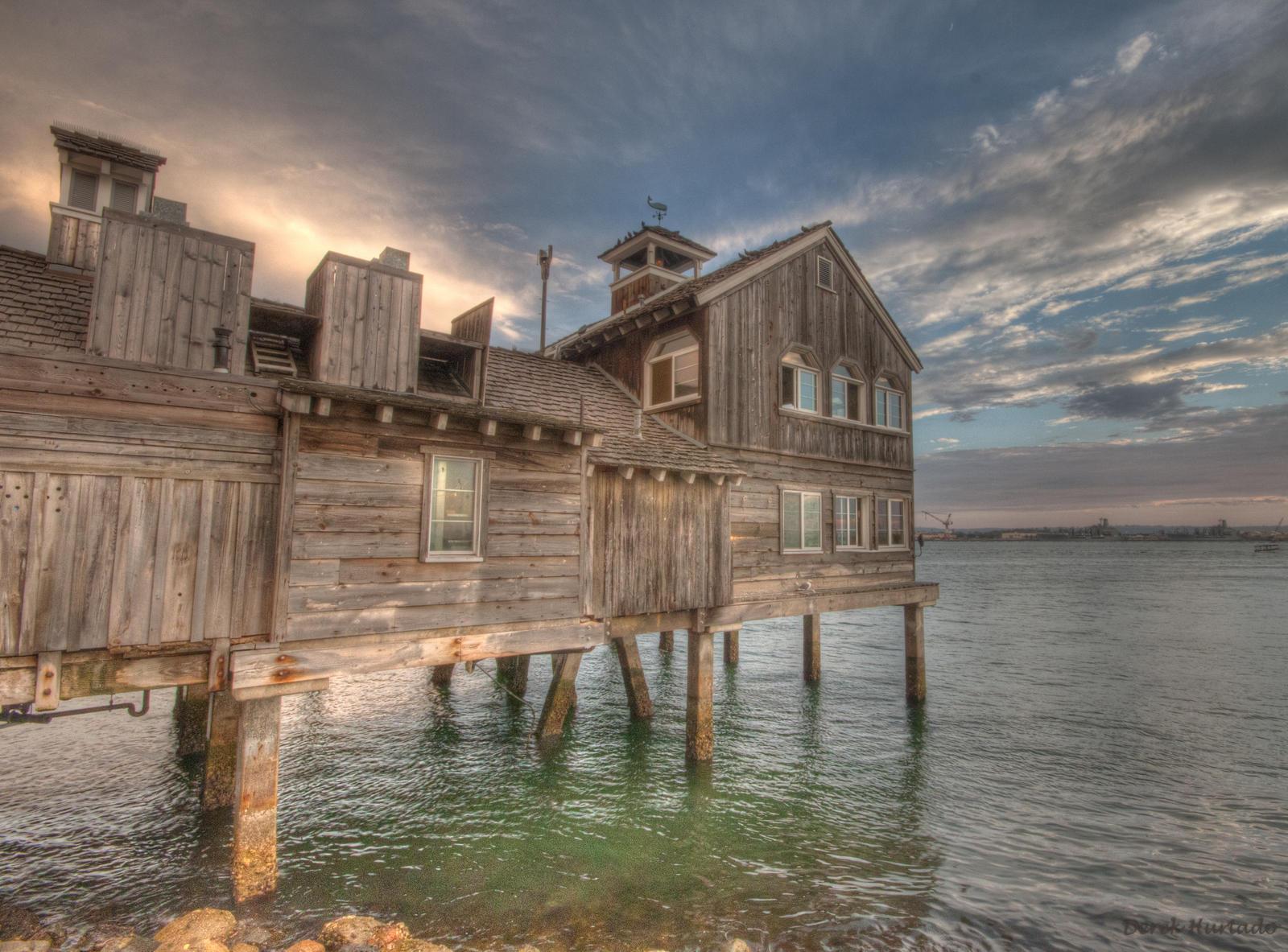 San Diego Pier Cafe by derek150