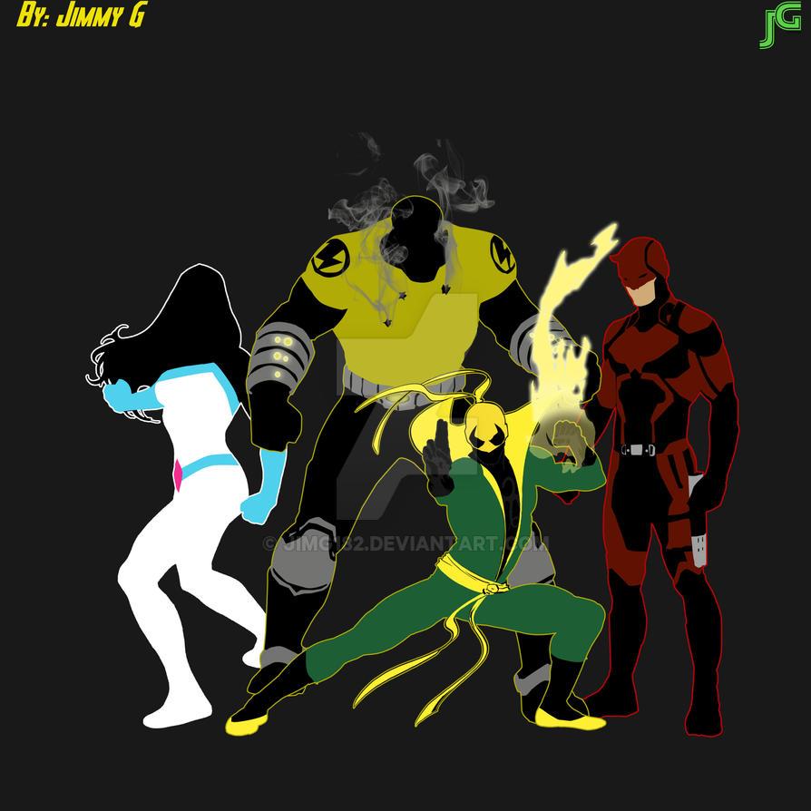 Defenders by JimG182