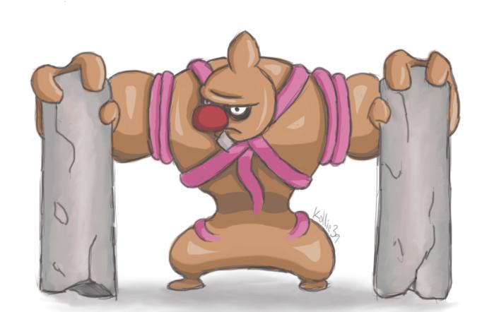 Pokemon drawing challenge #4: Ugliest pokemon