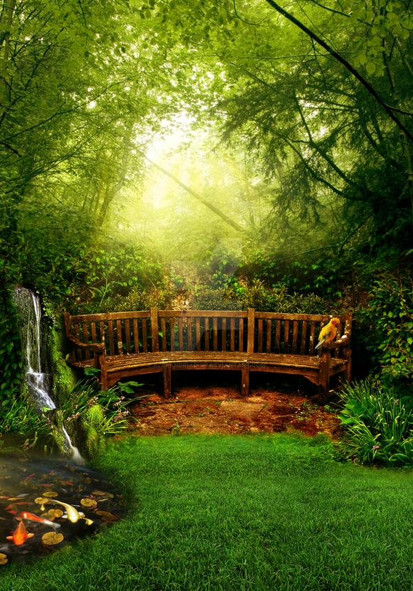 Premade Garden by AlexandriaDior