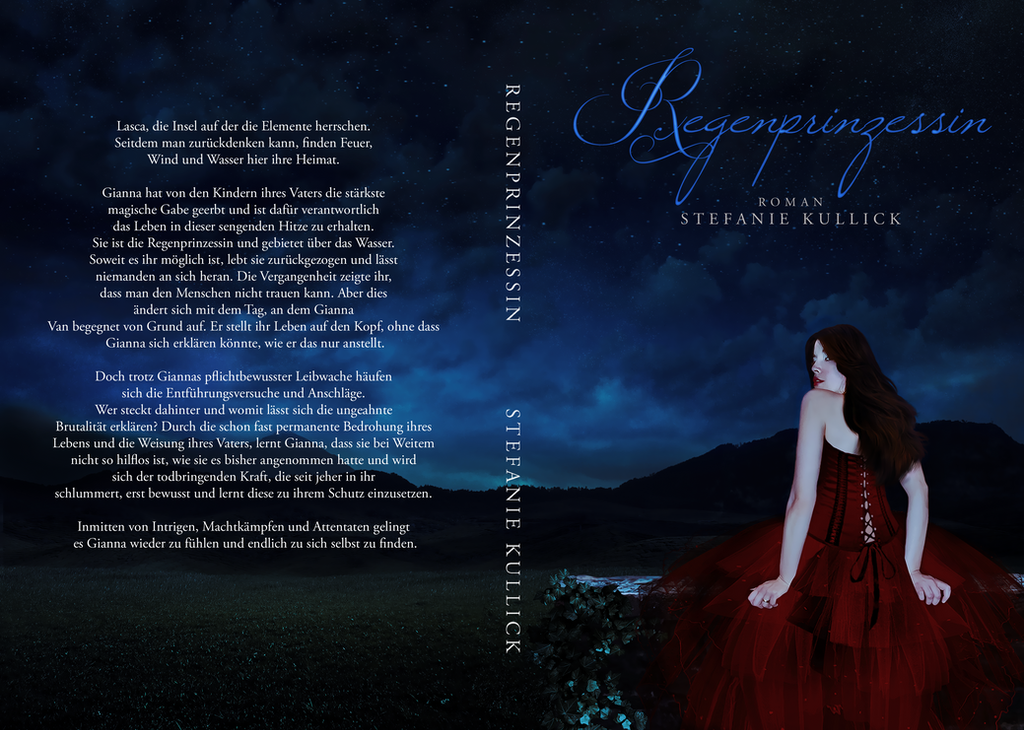 Book Cover - Rain Princess by AlexandriaDior