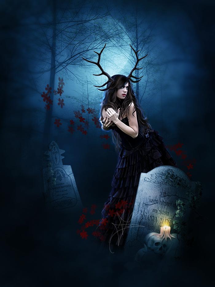 The Hidden Deity by AlexandriaDior