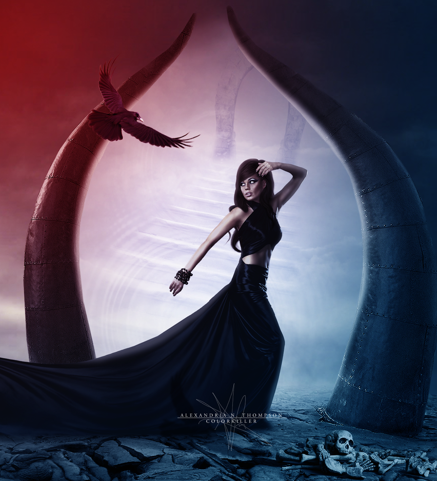 Escape of Persephone by AlexandriaDior